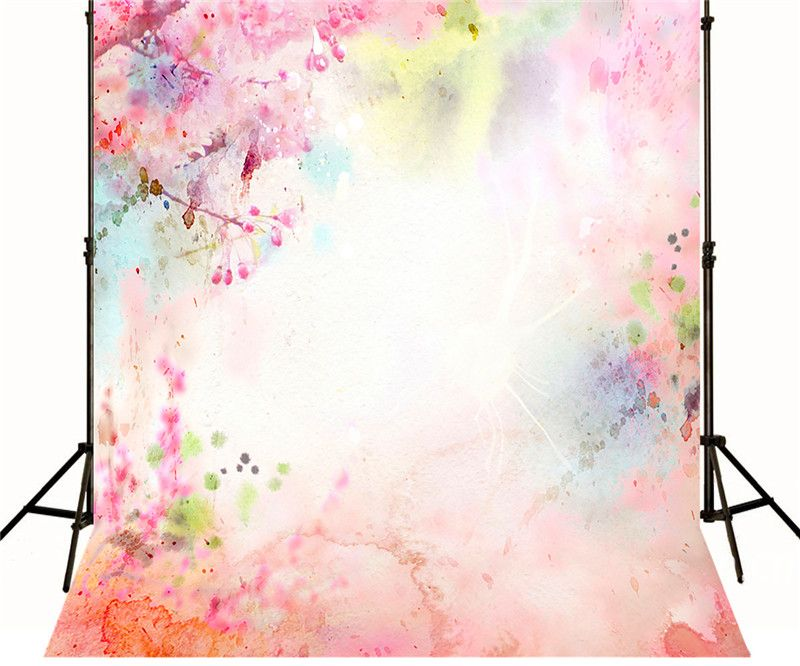 Find More Background Information About Pink Watercolor Backdrops