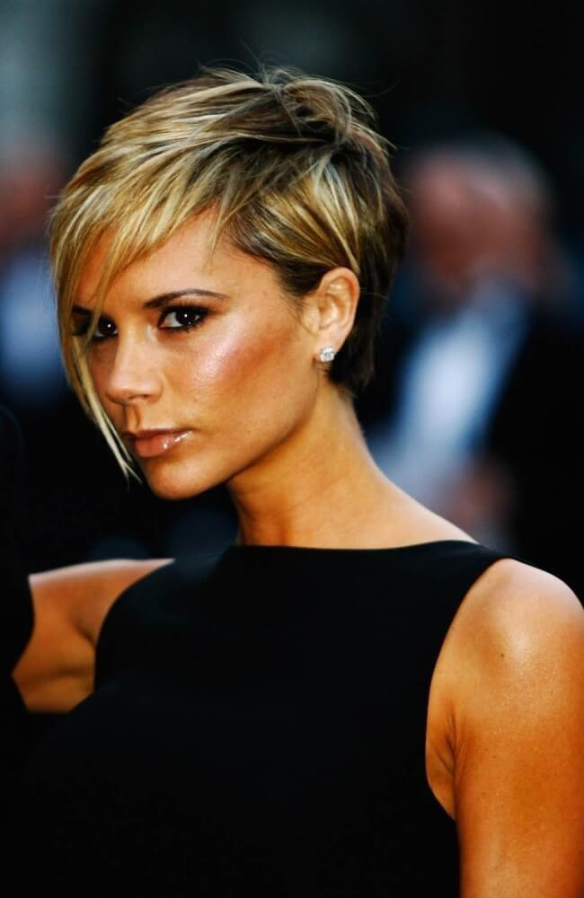 Bob Frisuren Von Victoria Beckham Trend Haare Hair Pinterest