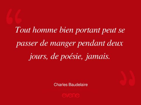 Citation De Charles Baudelaire 1821 1867