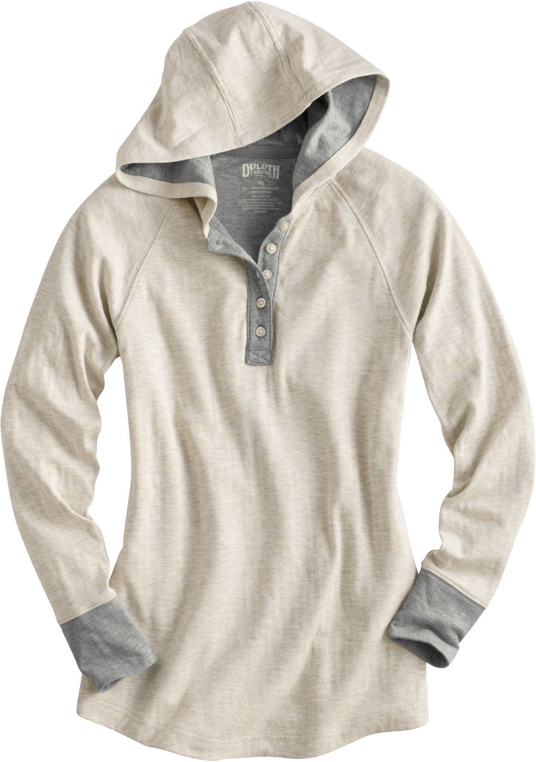Duluth Trading's Double Soft Hoodie uses two lightweight layers ...