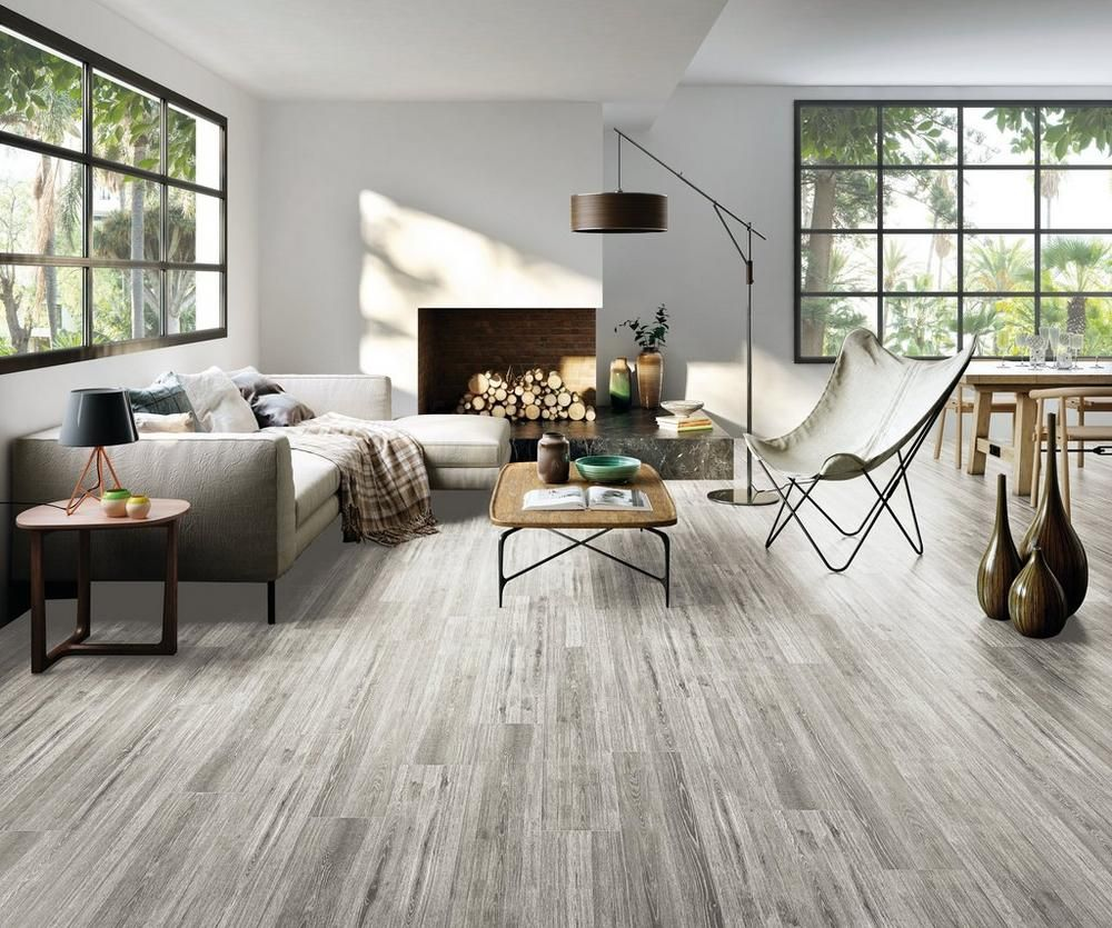 Ronne Gris Wood Plank Ceramic Tile Wood Tile Floors House Flooring Wood Tile