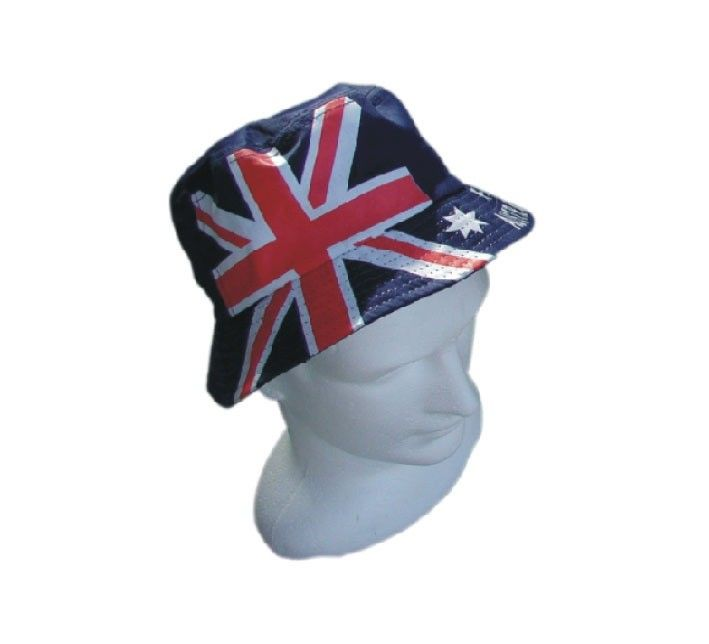 b282d064ee6 Australian Day Flag Bucket Hat Costume