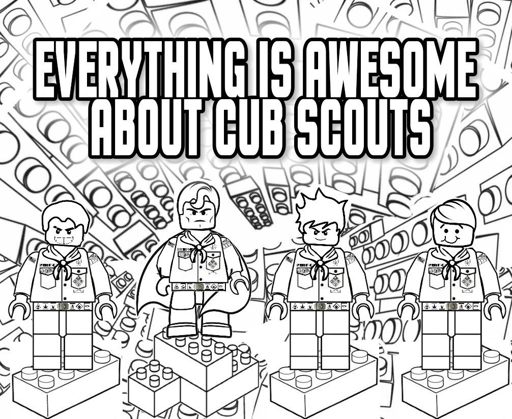 cub scout courage coloring page other pages at http www