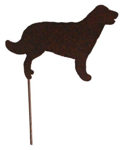 Outdoor Garden Stakes - Dogs - Golden Retriever - Made USA . $9.99
