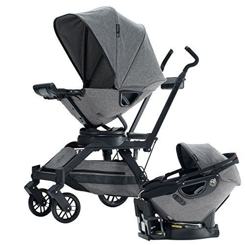 wingoffly luxury newborn baby pram infant foldable anti shock high view stroller pushchair grey. Black Bedroom Furniture Sets. Home Design Ideas