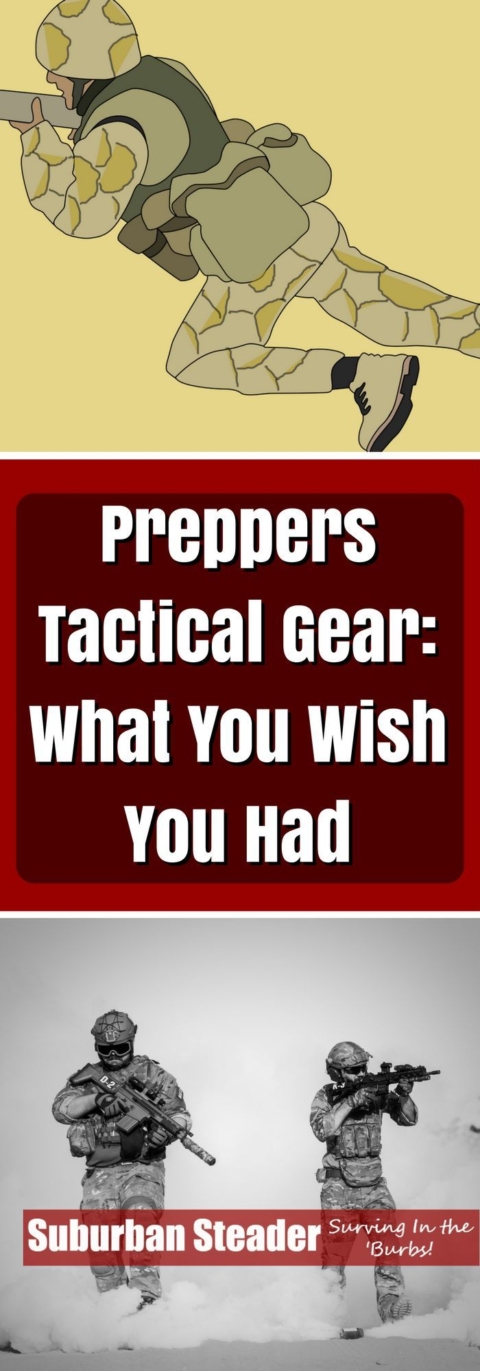 Tactical Gear for Preppers – What You Wish You Had