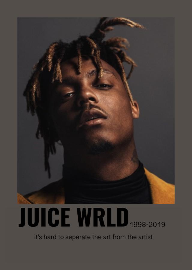 Juice Wrld Poster Juice Rapper Rapper Juice