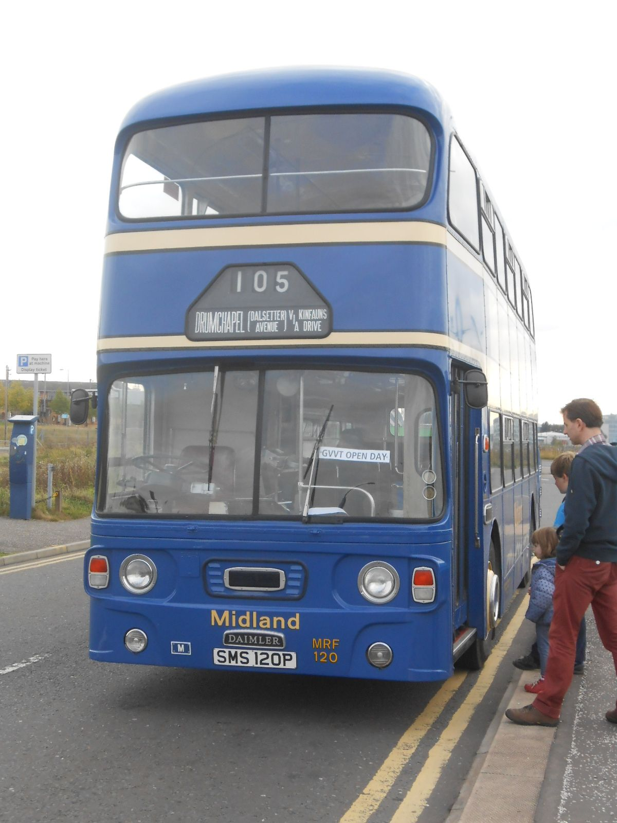 Daimler Fleetline CRG6LXB One Of The Free Buses For Open Days