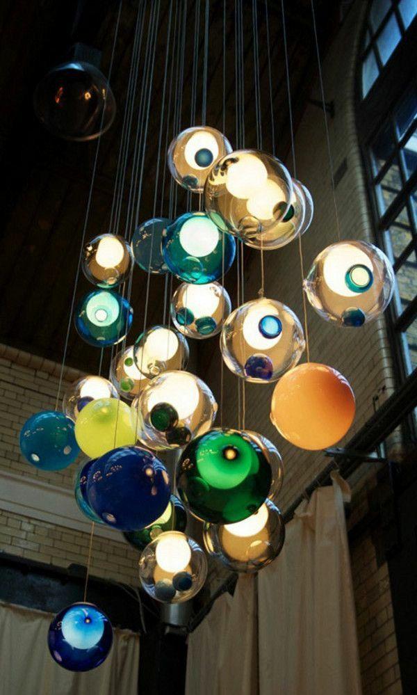 40 Glaskugel Lampen Fur Jedes Innendesign Glaskugel Lampe Lampen Pendelleuchte Glaskugel