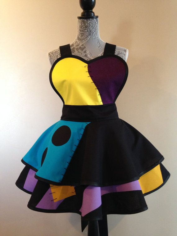 9a55a5d1c00a2 Sally Retro Apron | Nerd Out! | Nightmare before christmas wedding ...