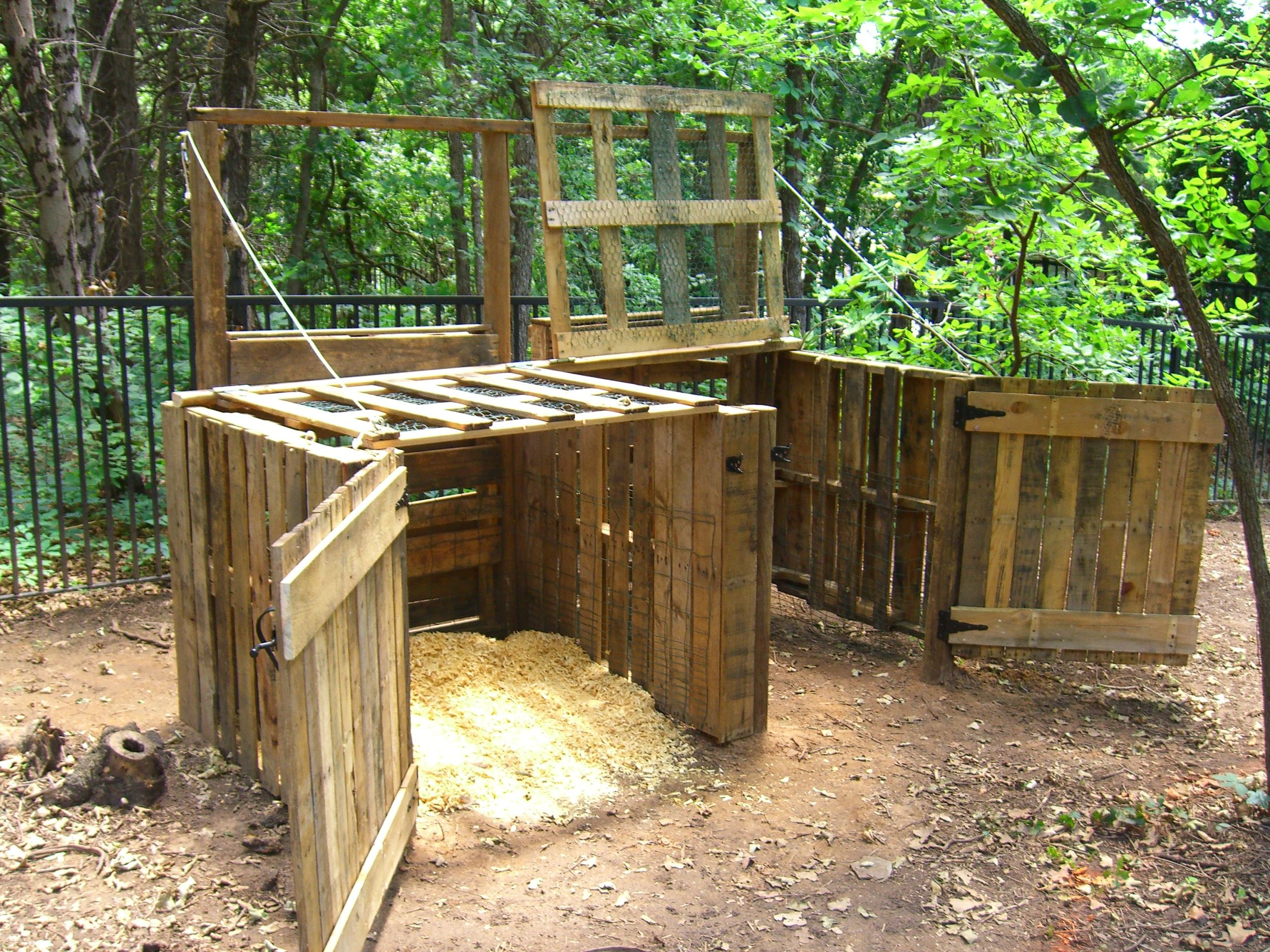pallet compost bins wonder if they u0027re bear proof prob not