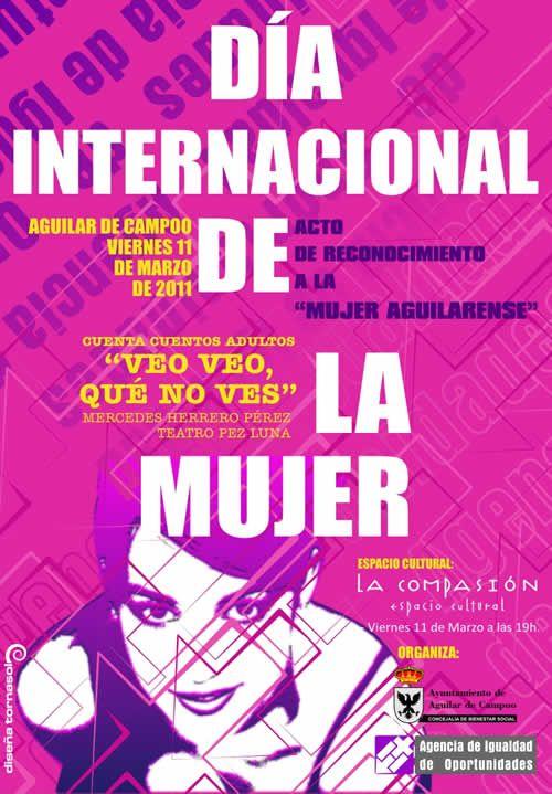 cartel dia internacional de la mujer - Buscar con Google