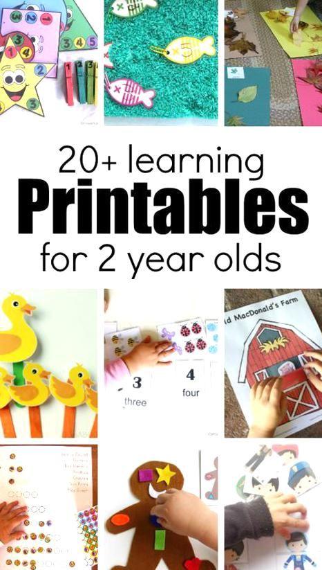 Preschool Learning Activities Toddler