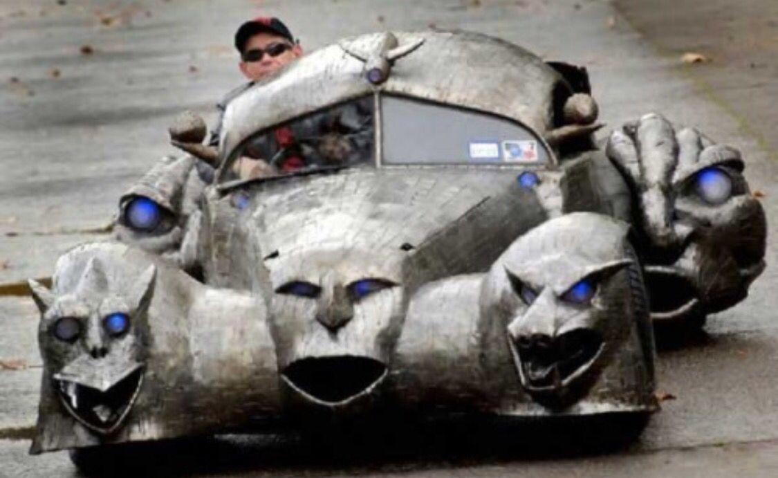 Too cool Weird cars, Cool bikes, Custom paint jobs