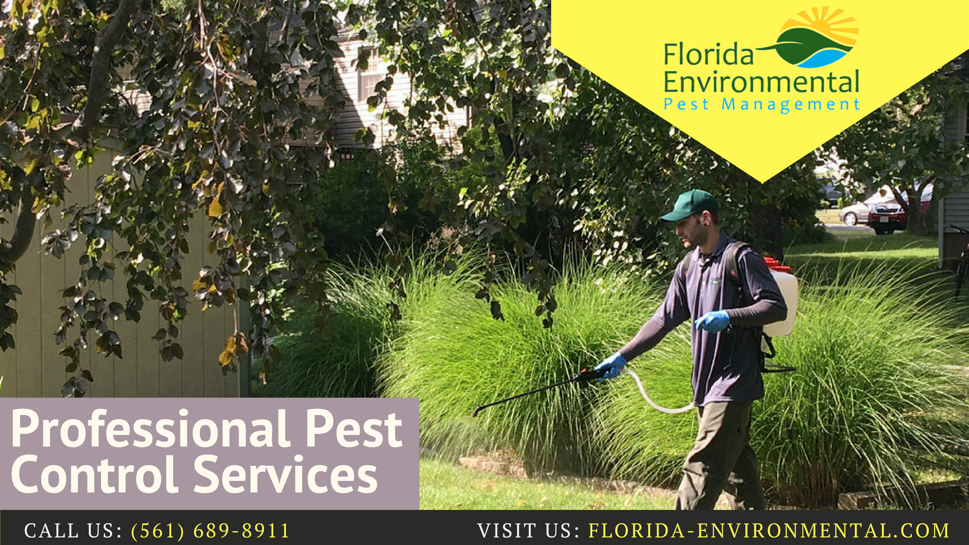 Welcome To Florida Environmental Pest Management Our Pest Control Technicians May Apply Traps To Get Rid Of Certain Pe Pest Control Pest Spray Pest Management