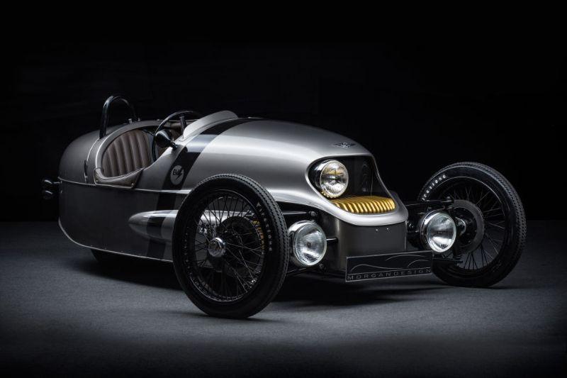 ハイテク しかしレトロな電気自動車 モーガン 最新モデル Wired Jp 電気自動車 クラシックカー コンセプトカー