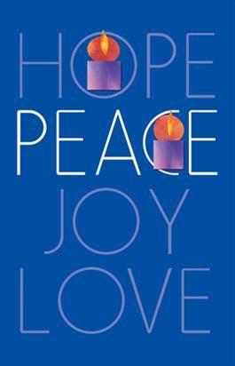 hope peace joy love advent week 2 high school cm. Black Bedroom Furniture Sets. Home Design Ideas