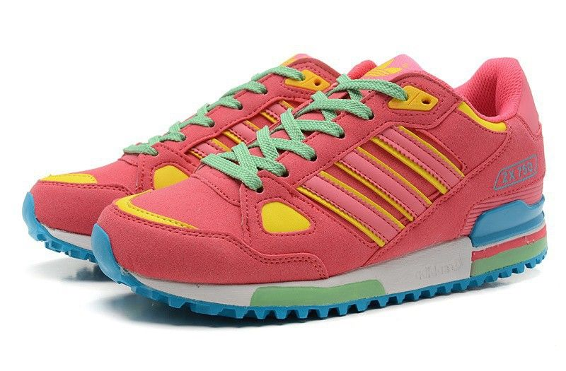 Adidas Originals ZX 750 Damen Sport Schuhe G64029 Brink Rosa