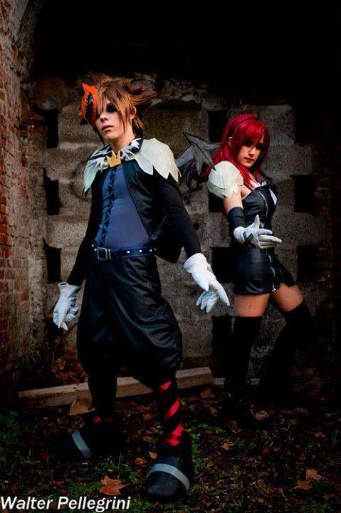 Sora Christmas Town Cosplay.Sora And Kairi Halloween Town Cosplay Kingdom Hearts