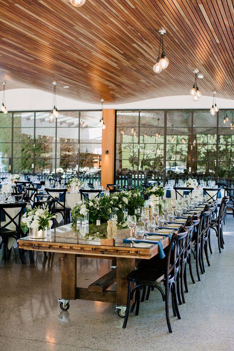 Klassische Hochzeit In Weiss Und Blau Pinterest