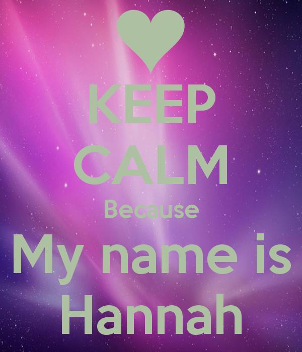 Download Hannah Name Wallpaper Gallery