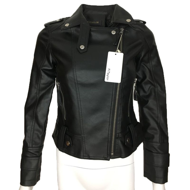 Leather Jackets 2019 Female 2018 New Design Spring Autumn Pu Leather