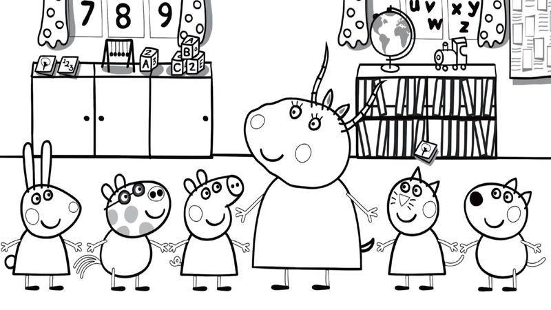 Back To School Coloring Page Printables 001 Wenn Du Mal Buch Ausmalbilder Schule Malvorlagen