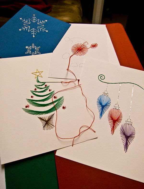 50 beautiful diy homemade christmas card ideas diy pinterest 50 beautiful diy homemade christmas card ideas solutioingenieria Images