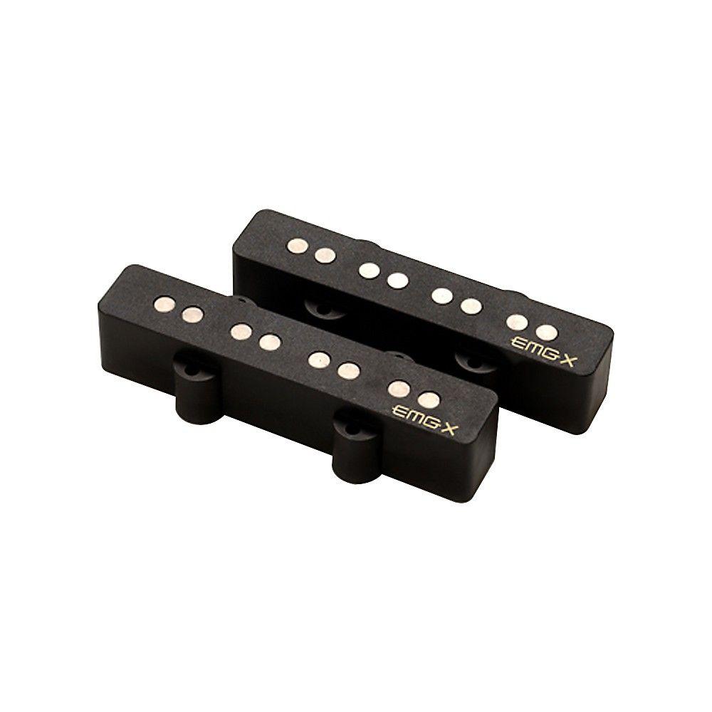 EMG JVX Bass Pickup Set Black