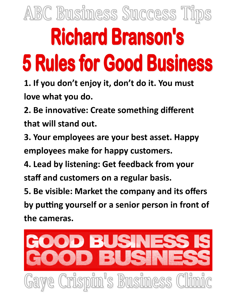 Business rules in excellent quotes