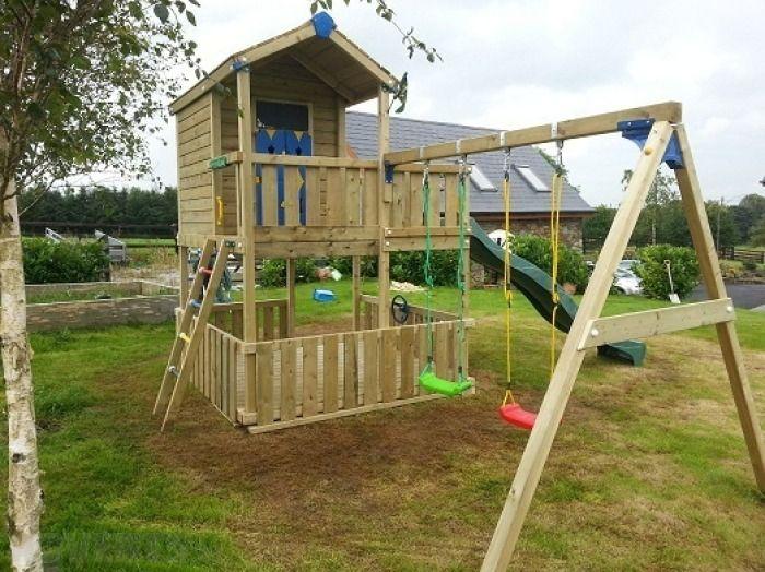 elevated playhouse | Heavy-Duty Extra Large Raised ...