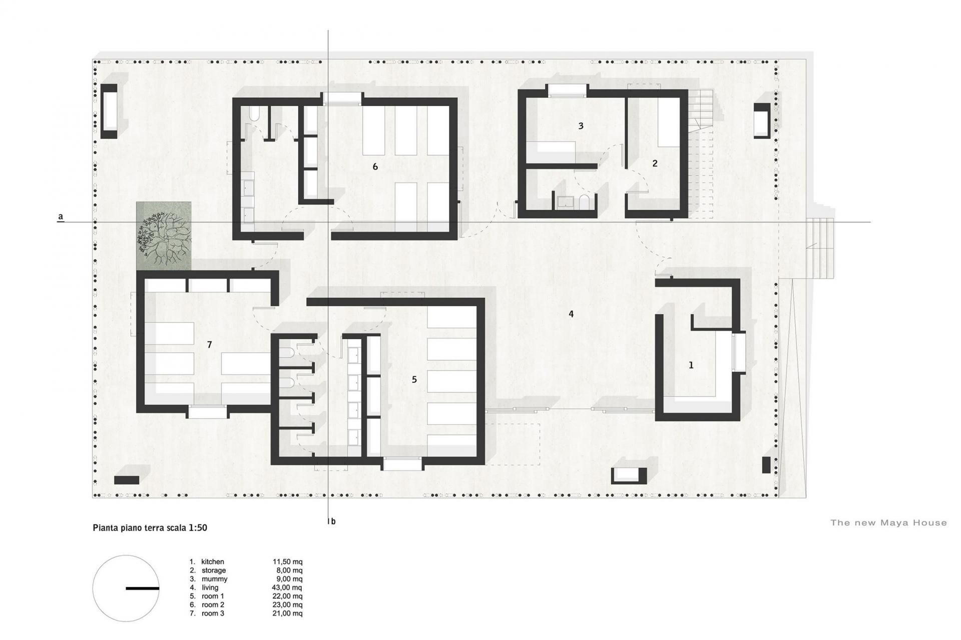 CASA RANA by Made in Earth as Architects | ARCHITECTURAL DIAGRAMS ...