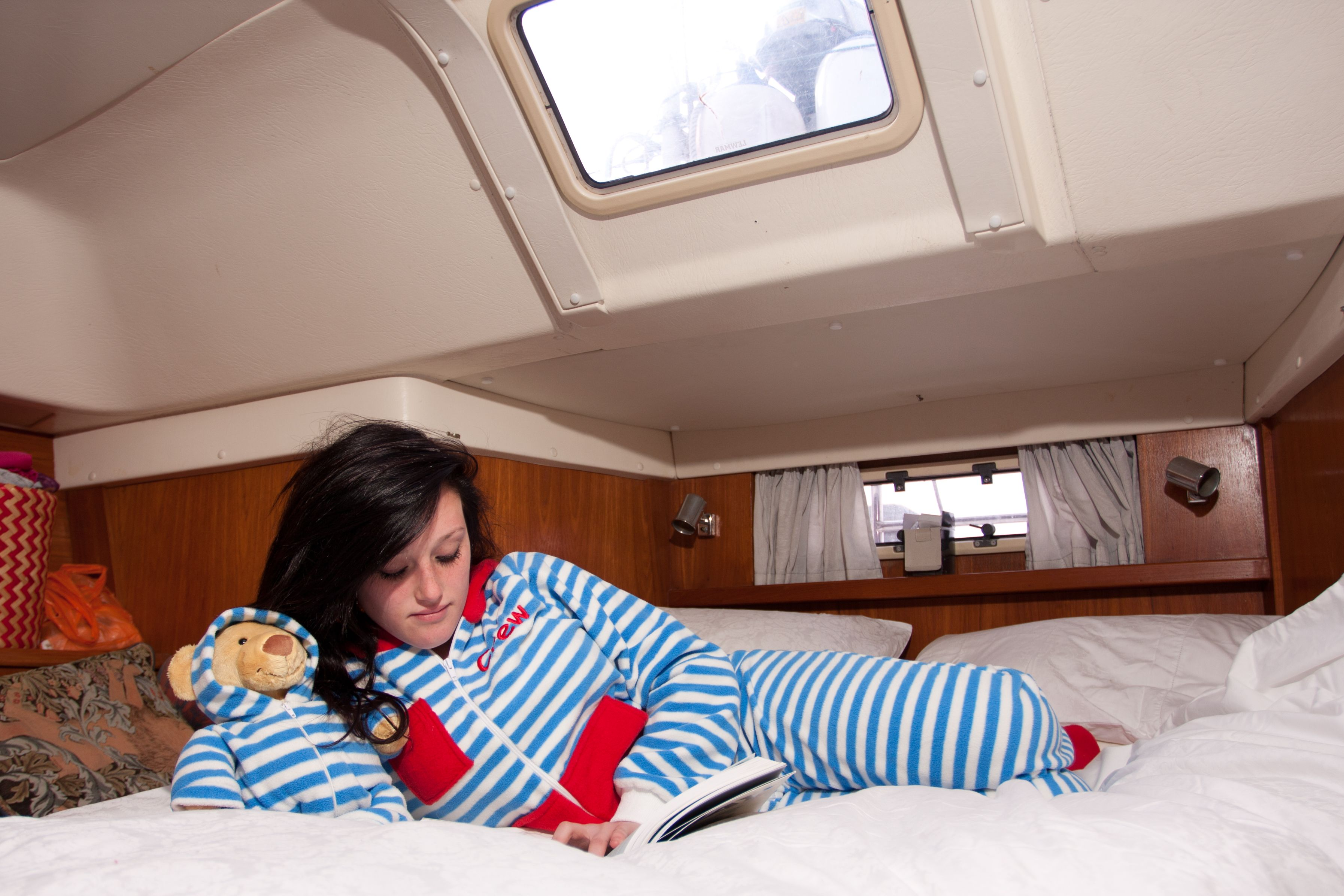 #onesie #boat #sail #blue #relax