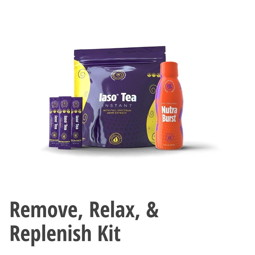 Remove Relax Replenish Kit Total Life Changes Iaso Tea Tlc