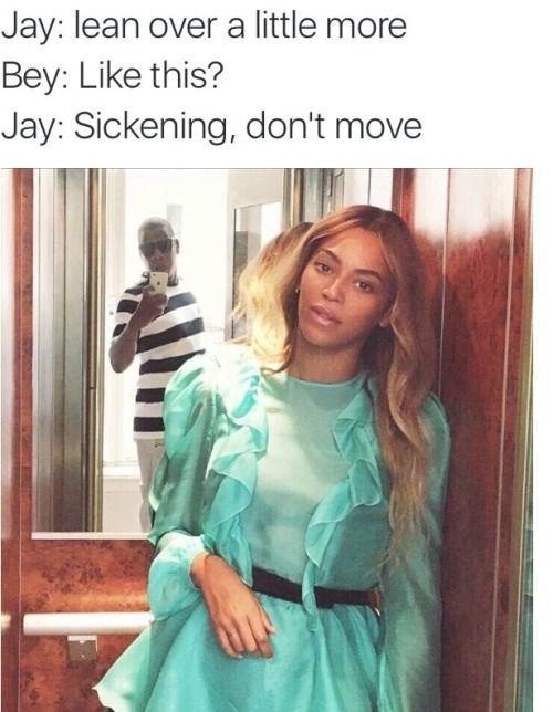 Beyoncé and Jay Z   Beyonce memes, Really funny memes ...