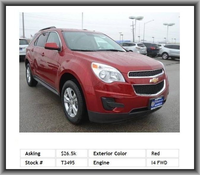 2014 Chevrolet Equinox Lt Suv Vanity Mirror Light Anti Theft