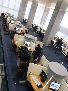 Yonsei University Library Arquitectura Espacios De Trabajo Disenos De Unas