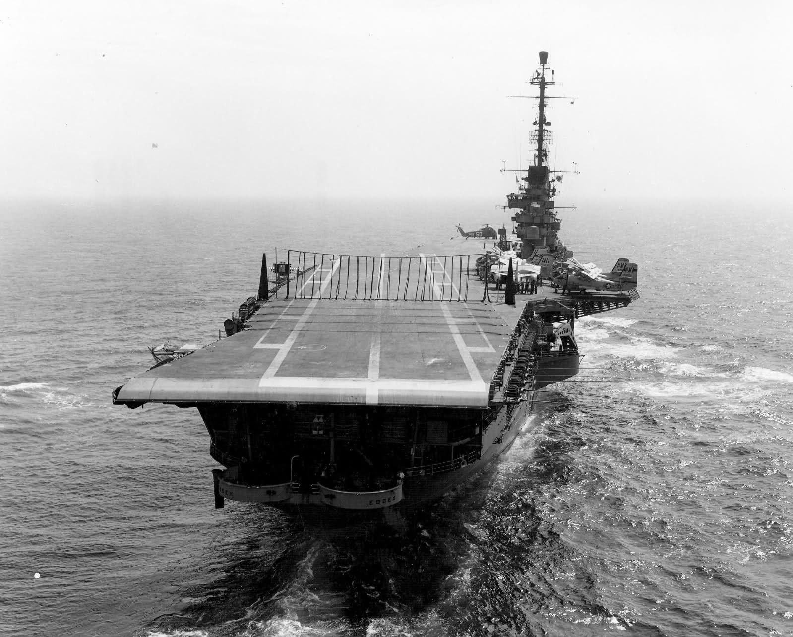 uss essex cvs 9 1963