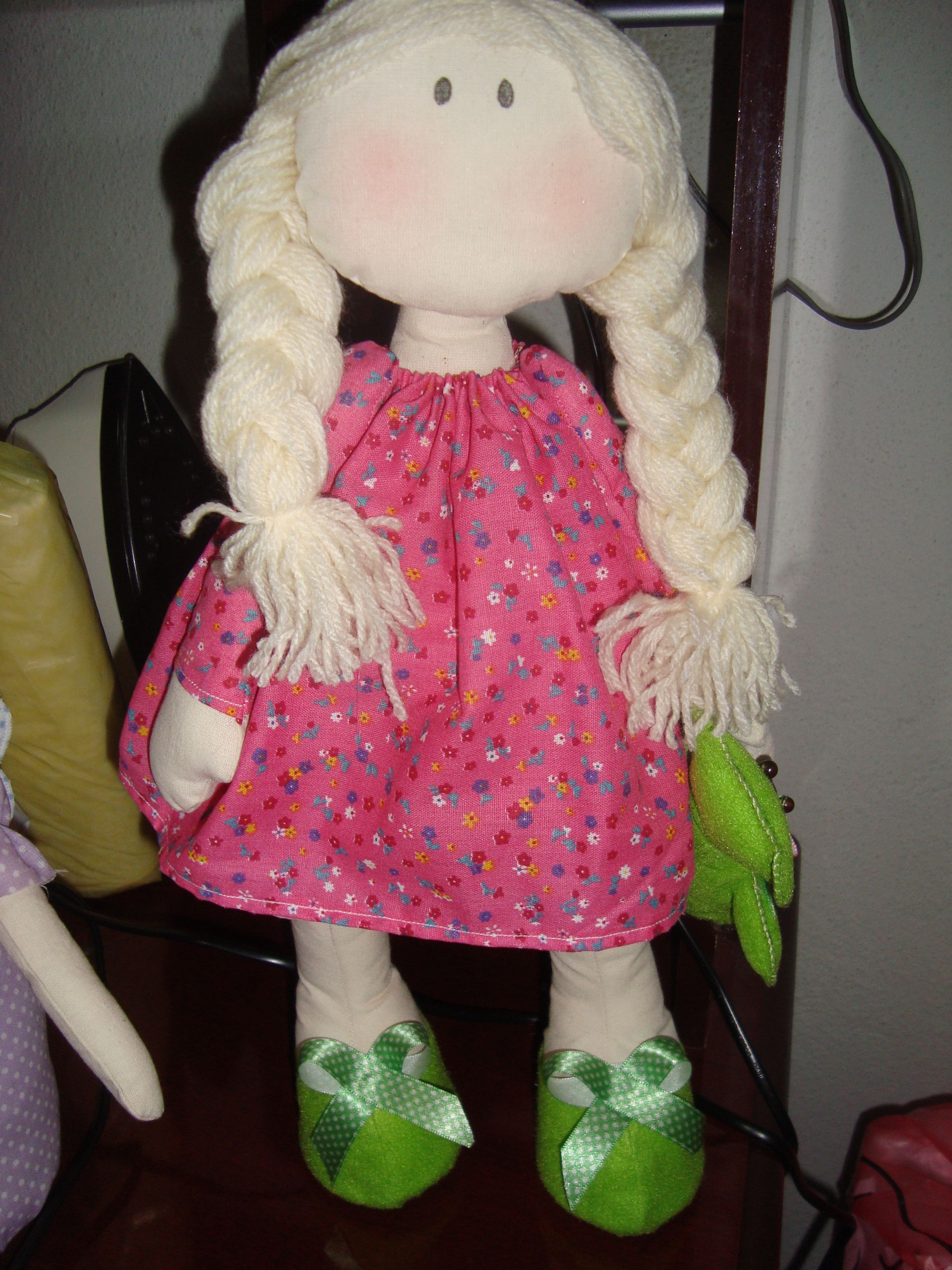 bonecas pano