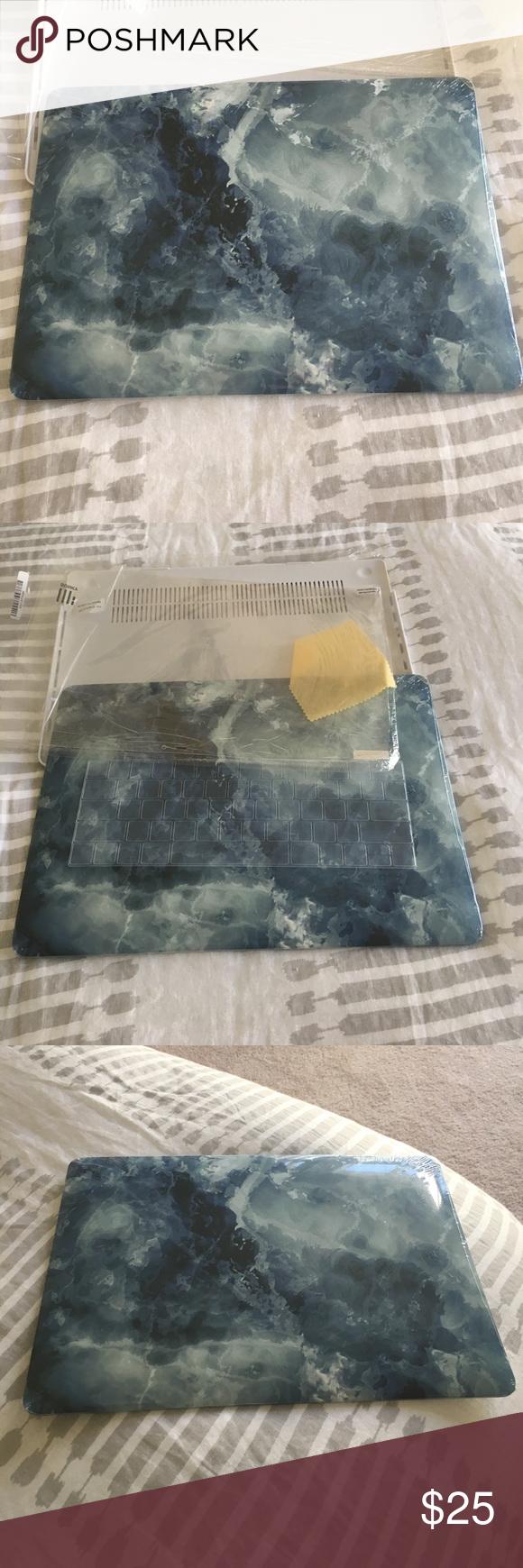 MacBook Newest 15 Pro Case +Keyboard Skin +More BRAND NEW - Please