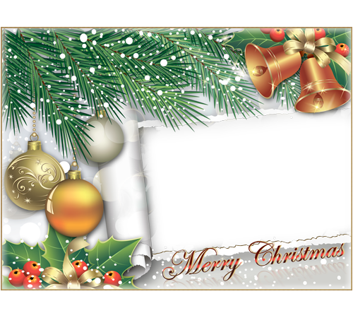 merry christmas frames png | Photo frame - Wish you merry ...