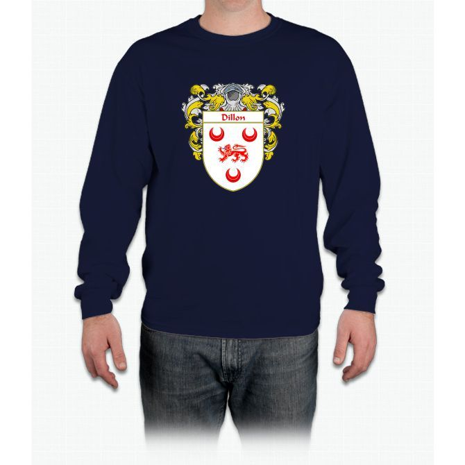 Dillon Coat of Arms/Family Crest Long Sleeve T-Shirt