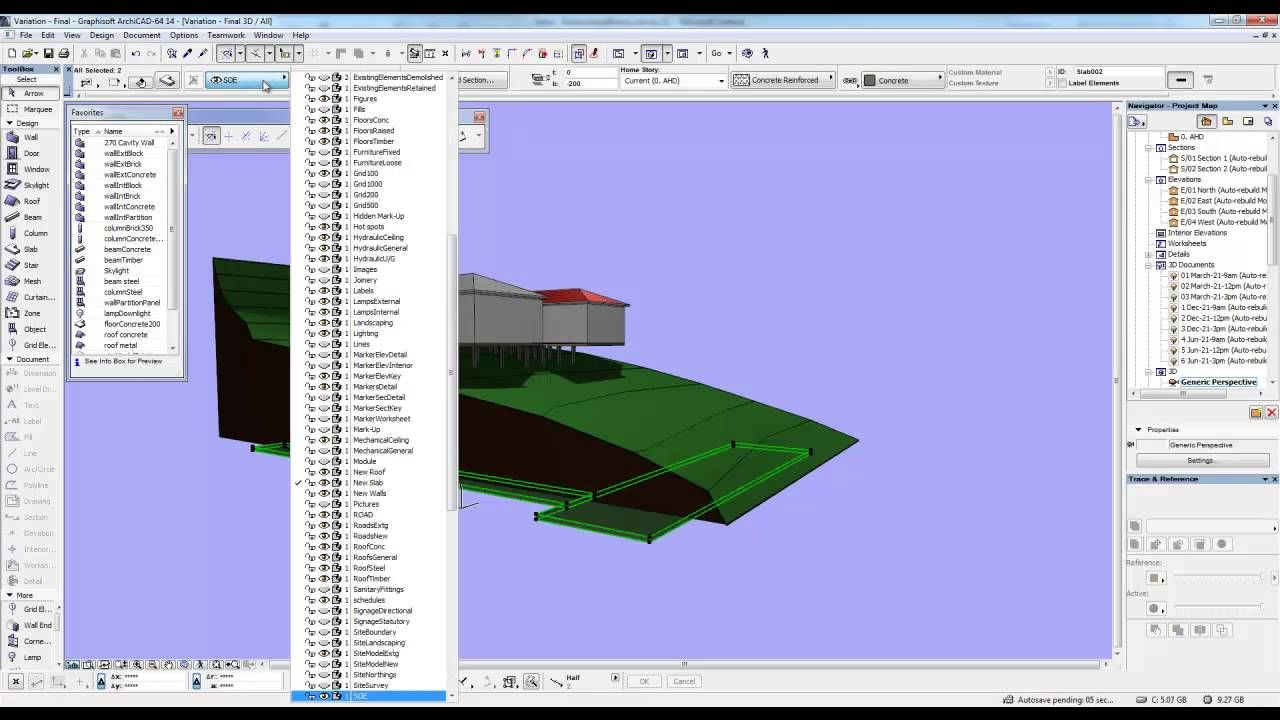 Archicad Mini Tutorial 18 Creating a road