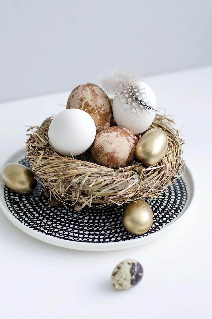 Ostern I Eier natürlich färben I Sinnenrausch | Ostern | Pinterest ...