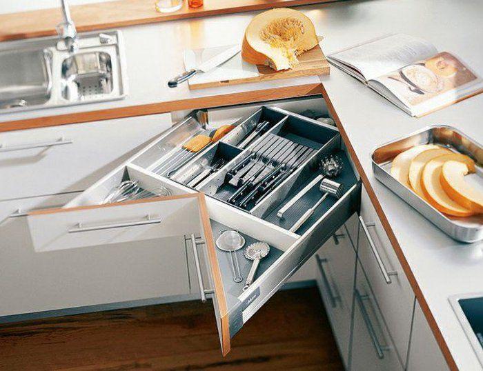Platzsparen Mit Eck Schubladen Als Coole Idee Für Küchen