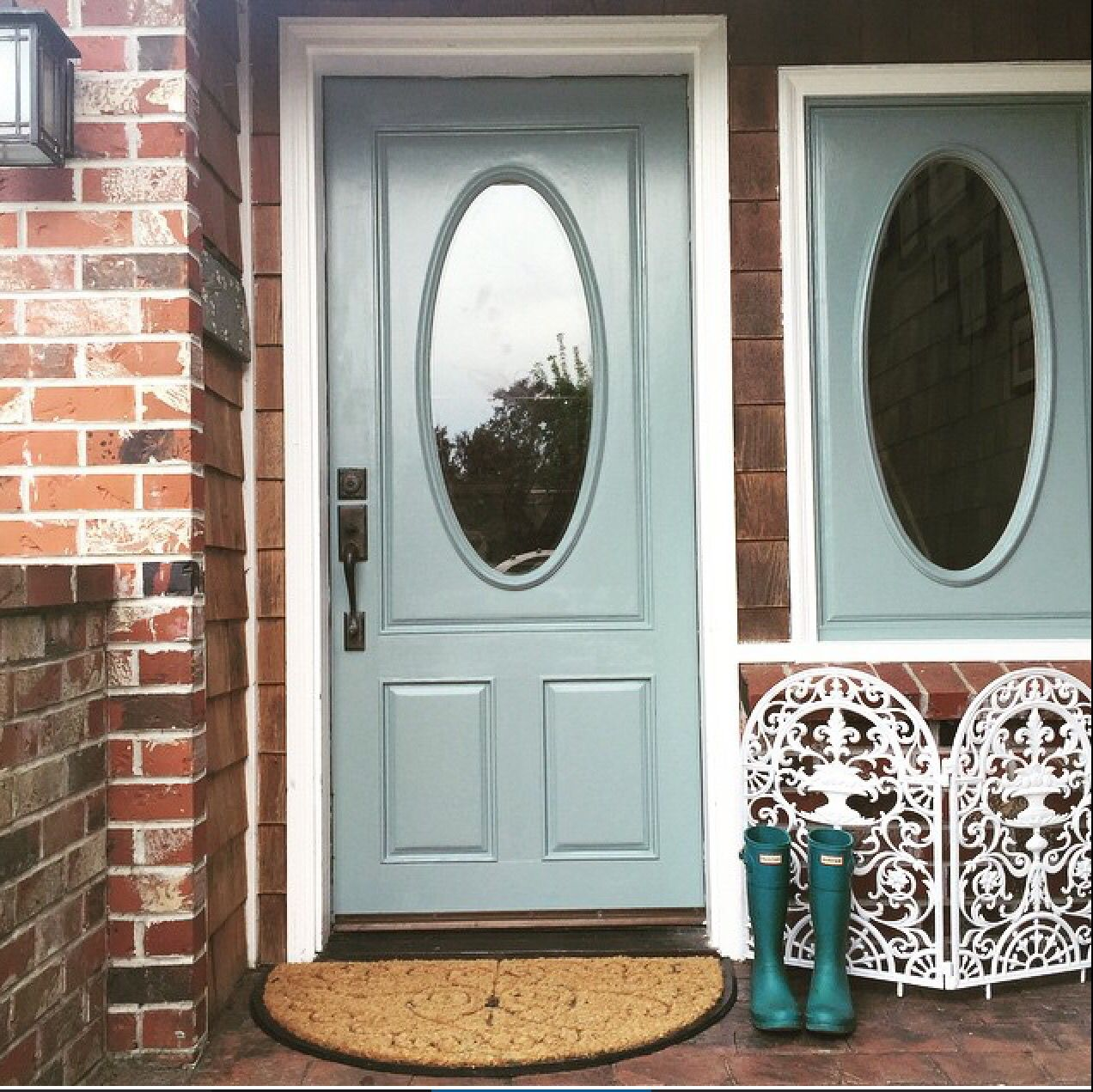 Oval Room Blue Front Door Farrow And Ball Painted