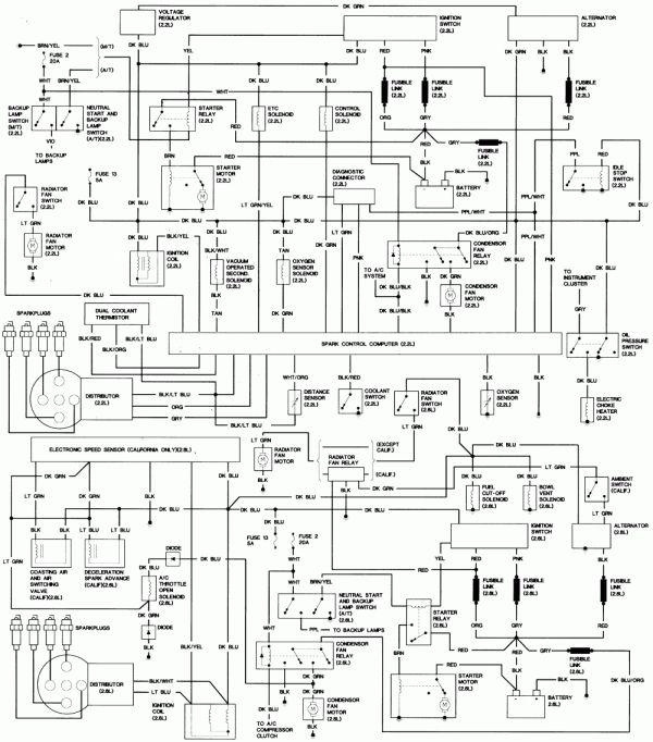 12 1986 Lincoln Town Car Wiring Diagram Car Diagram Wiringg Net Lincoln Town Car Car Alternator Car