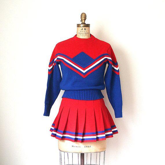 costume Vintage cheerleader