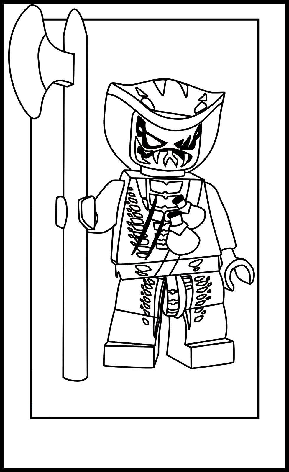 Lego Ninjago Pythor Coloring Pages