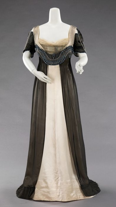 Eveing Dress, House of Worth 1911